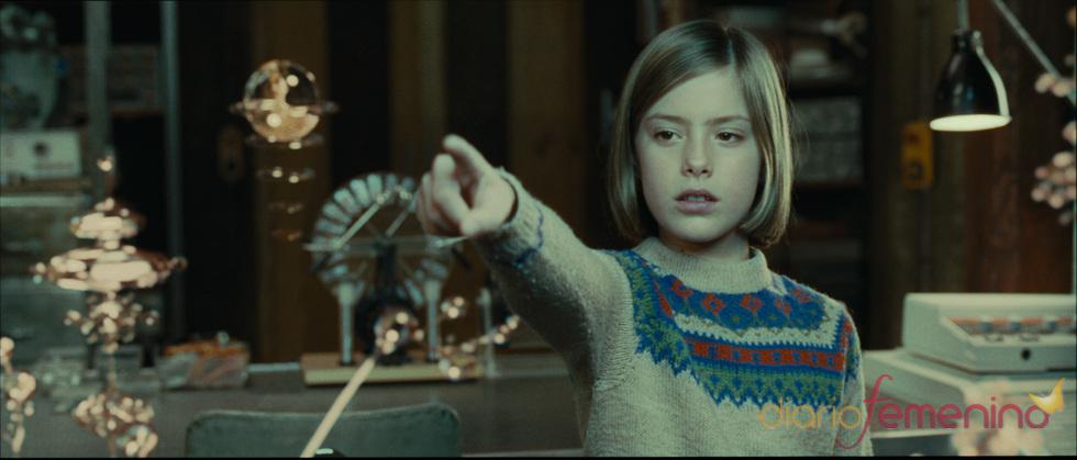 Claudia Vega en un fotograma de la película 'Eva'