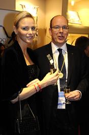 Alberto de Mónaco y Charlene Wittstock en Durban de luna de miel