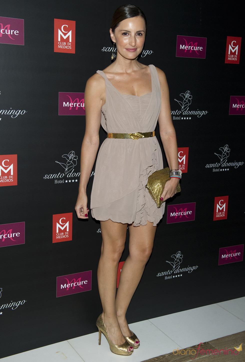 Mónica de Tomás en los premios Estrella de Oro 2011