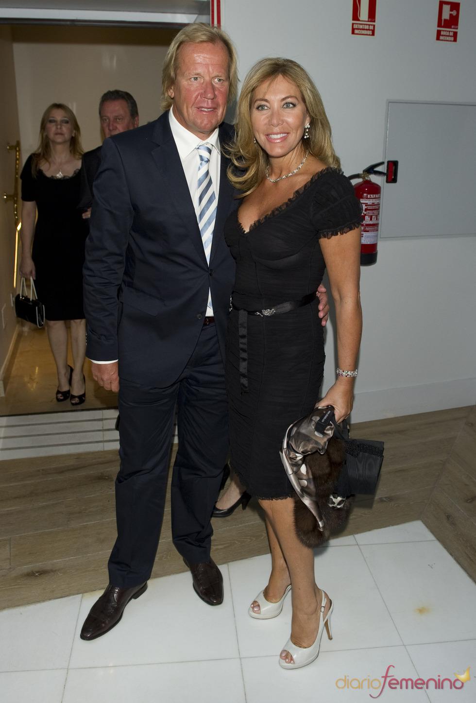 Norma Duval y Mathias Kunn en los premios Estrella de Oro 2011