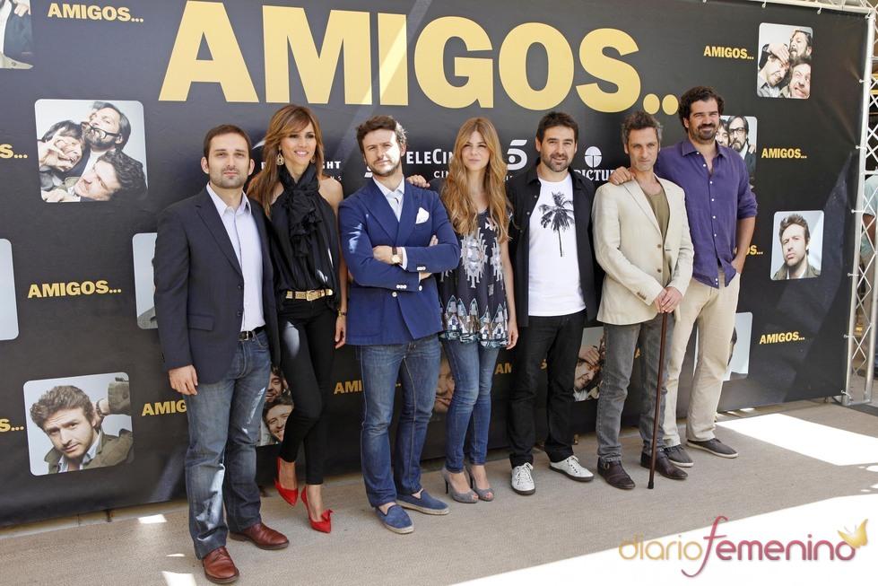 Elenco de la película 'Amigos'