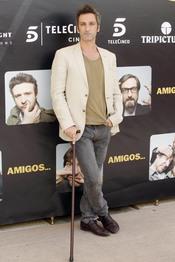 Ernesto Alterio durante la promoción de la película 'Amigos'