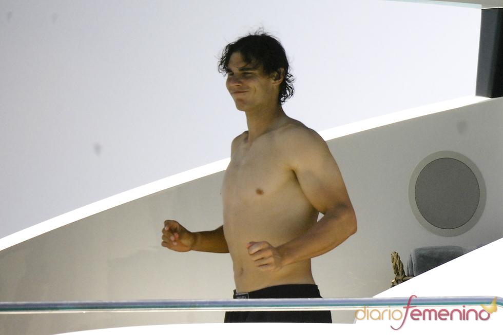 Rafa Nadal disfruta de sus vacaciones en Ibiza