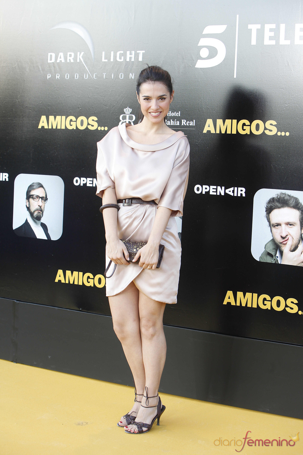 Cristina Brondo en el estreno de la película 'Amigos'