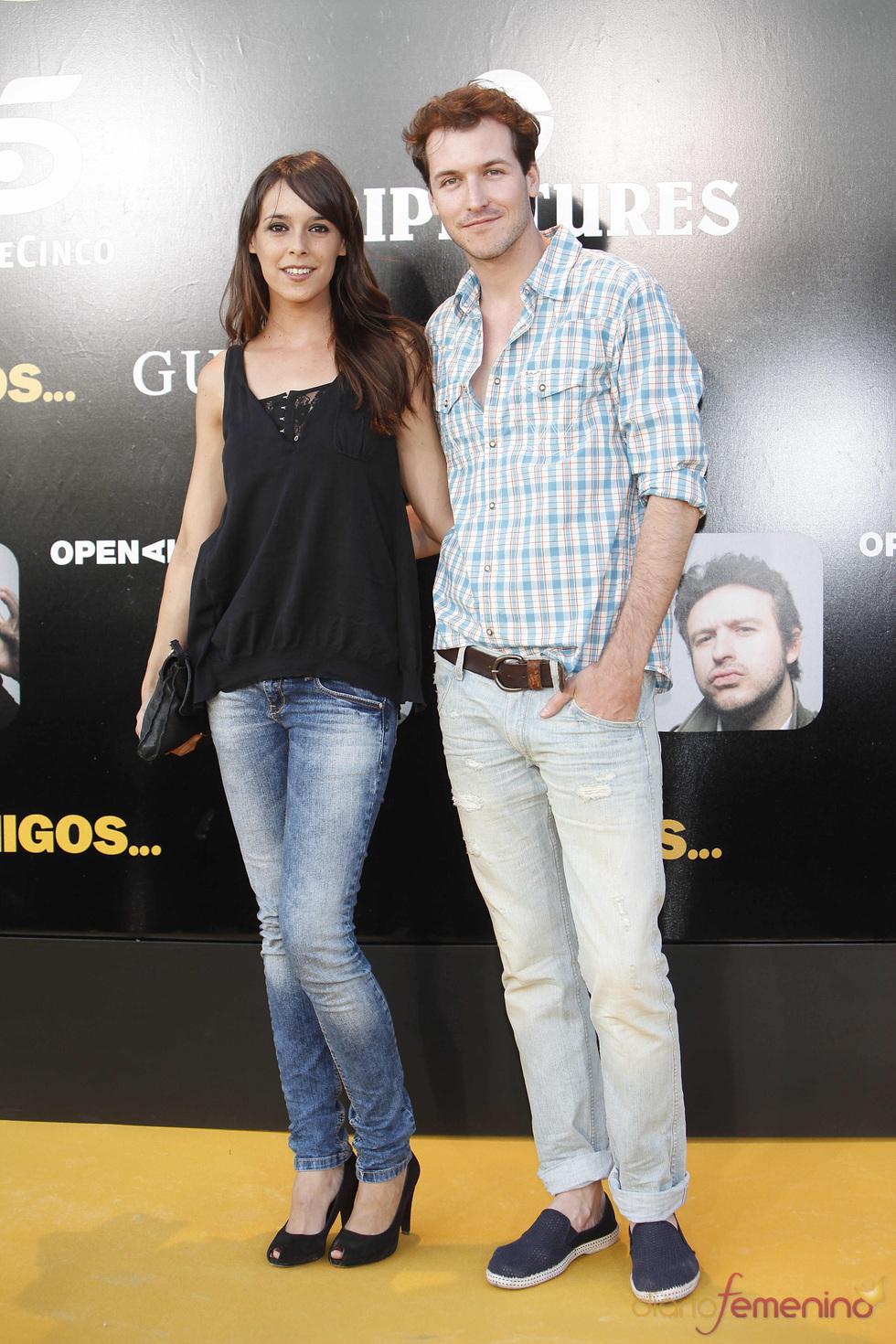 El actor Jorge Suquet en el estreno de la película 'Amigos'