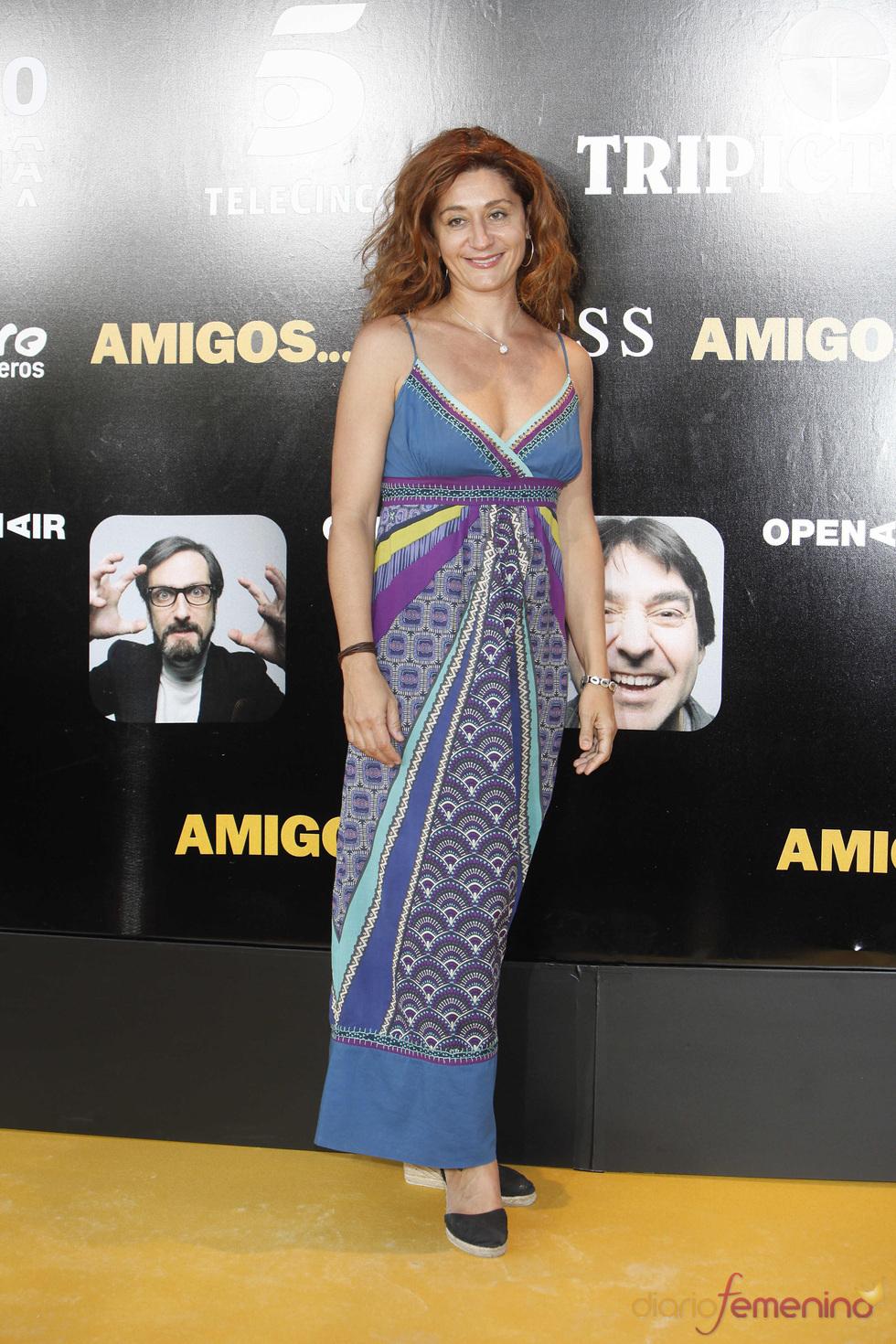 La actriz Chiqui Fernández en el estreno de la película 'Amigos'