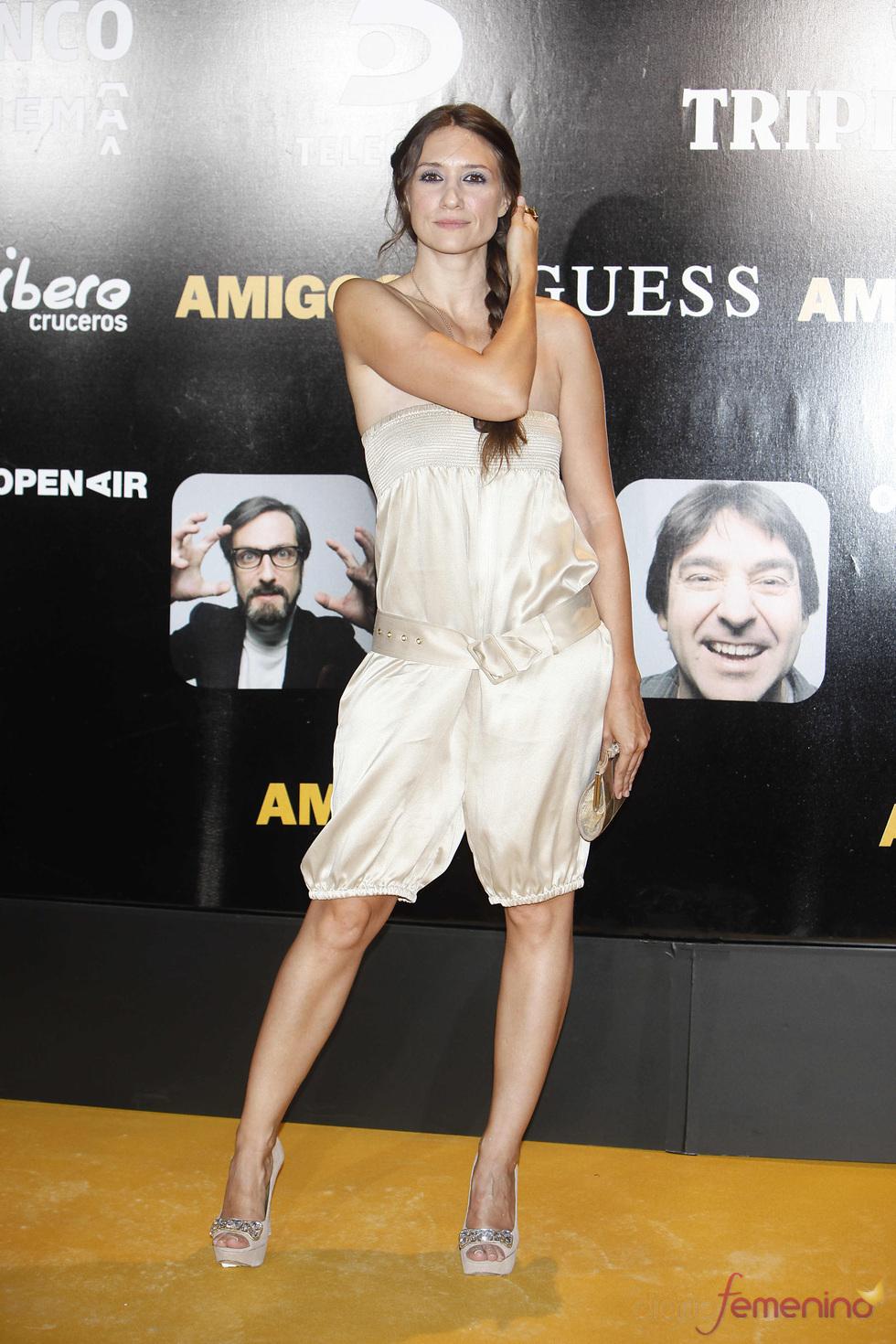 La actriz Elena Botto en el estreno de la película 'Amigos'
