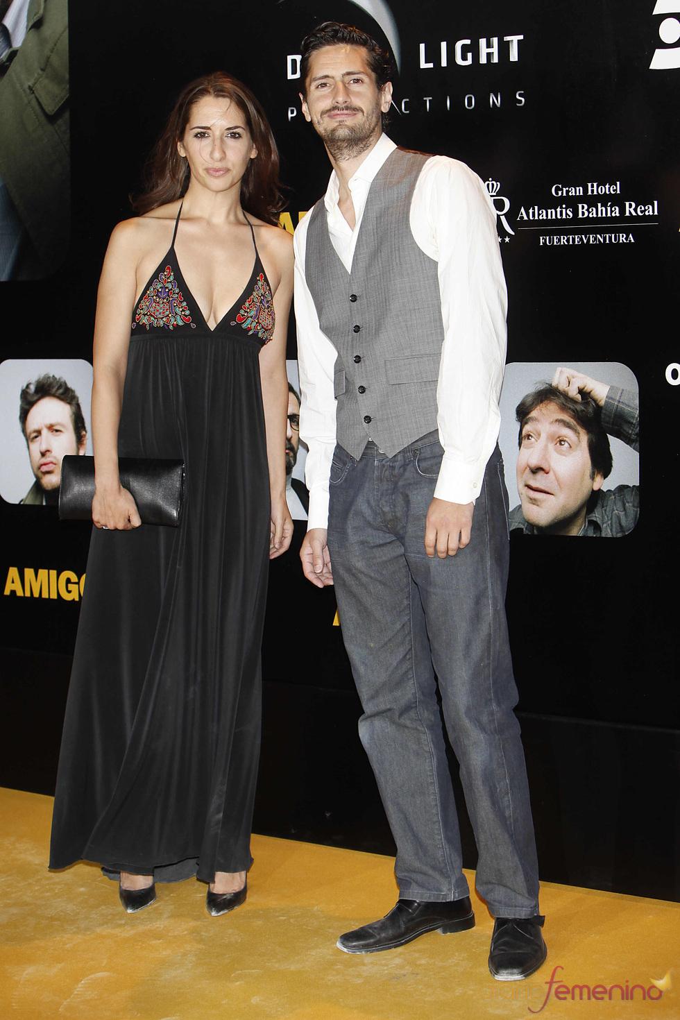 Juan Diego Botto en el estreno de la película 'Amigos'