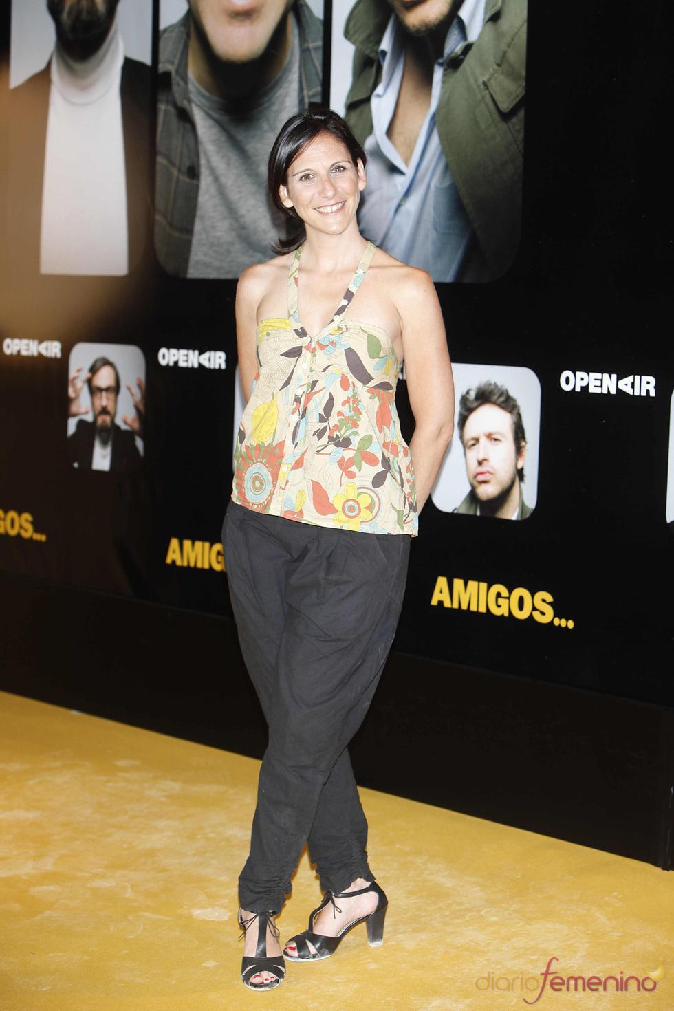 La actriz Malena Alterio en el estreno de la película 'Amigos'