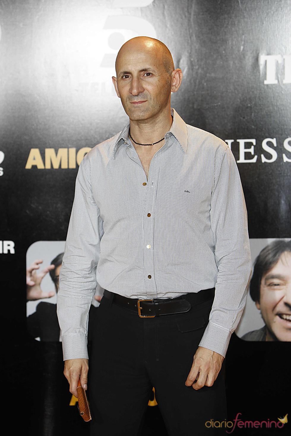 Modesto Lomba en el estreno de la película 'Amigos'