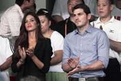 Iker Casillas y Sara Carbonero en un acto solidario en Pekín