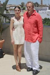Nick Nolte y María Valverde ruedan en Sevilla la película 'A puerta fría'