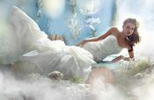 Vestido de novia inspirado en 'La Sirenita' de Disney