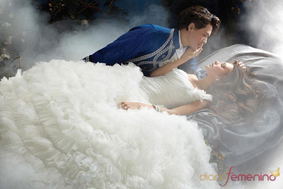 vestido de novia inspirado en 'la bella durmiente' de disney