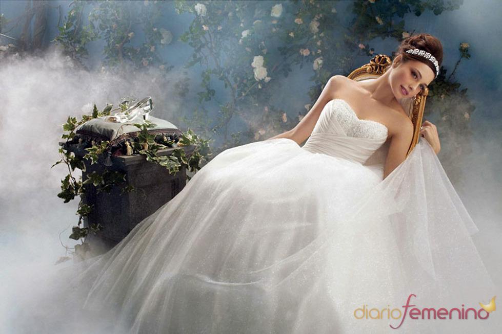 Vestido de novia inspirado en 'La Cenicienta' de Disney