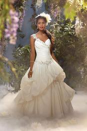 Vestido de novia inspirado en 'Tiana y el sapo' de Disney