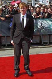 Rupert Grint llega a la premier mundial de 'Harry Potter'