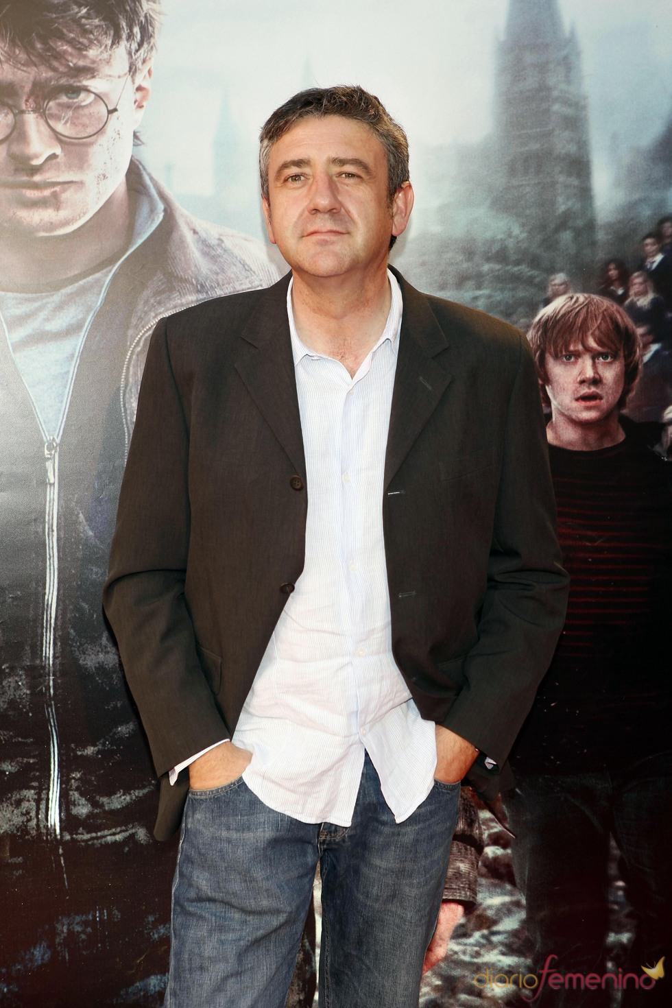 Ramón Aranguena en el estreno de 'Harry Potter' en Madrid