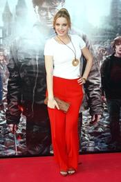 Carolina Bang durante el restreno de 'Harry Potter' en Madrid