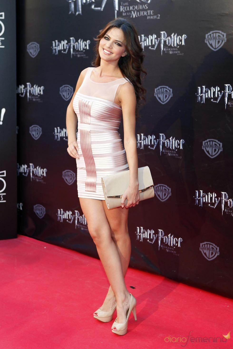 Romina Belluscio durante la premier de 'Harry Potter' en Madrid