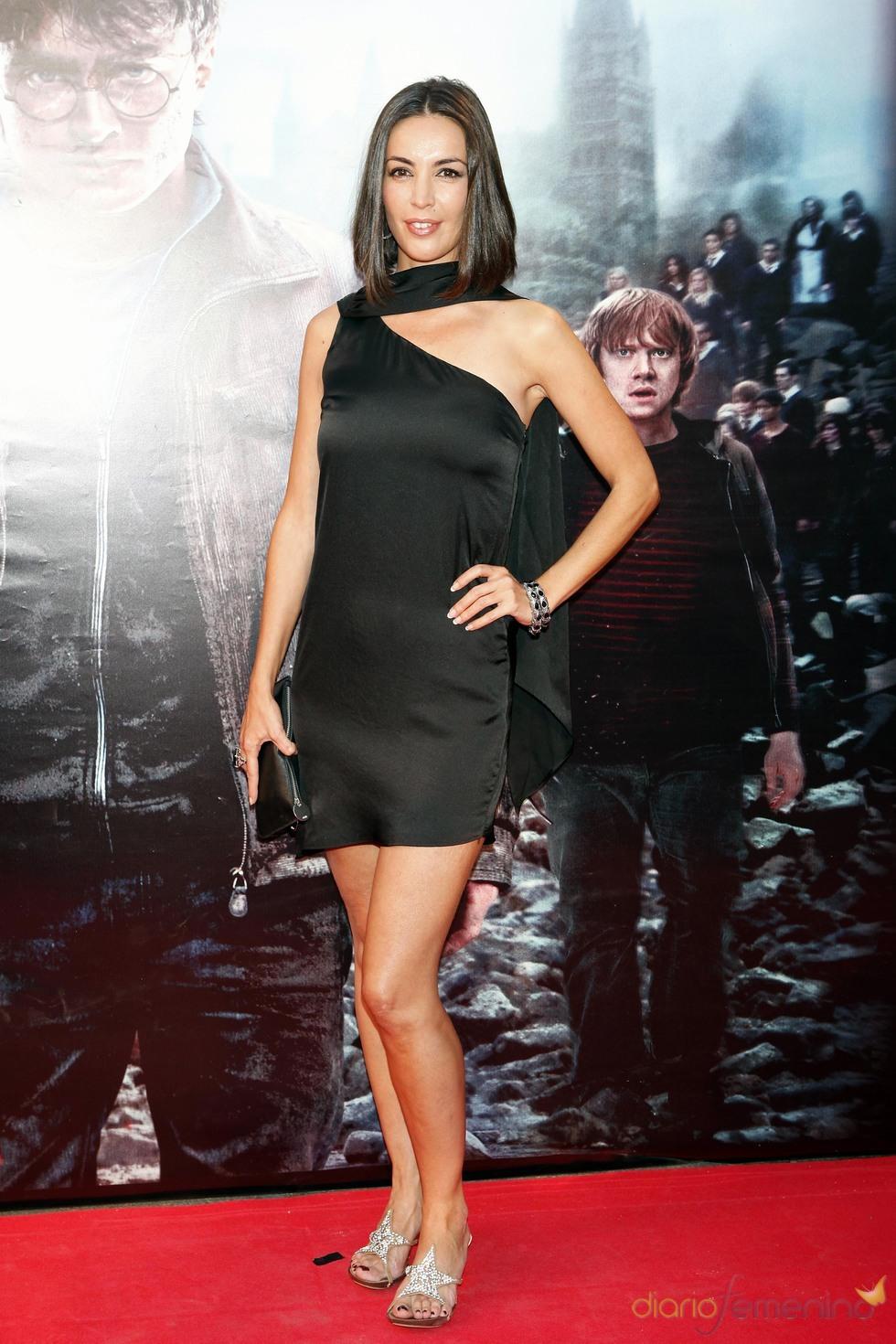 Maria José Besora en la premier de 'Harry Potter' en Madrid