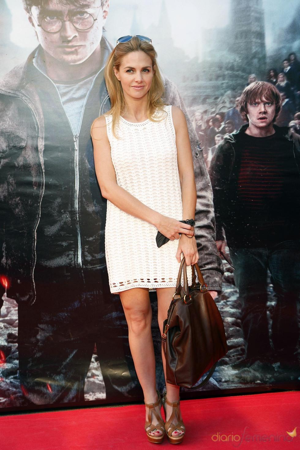 Genoveva Cassanova durante la premier de 'Harry Potter' en Madrid