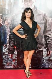 Inés Molina en el estreno de 'Harry Potter' en Madrid