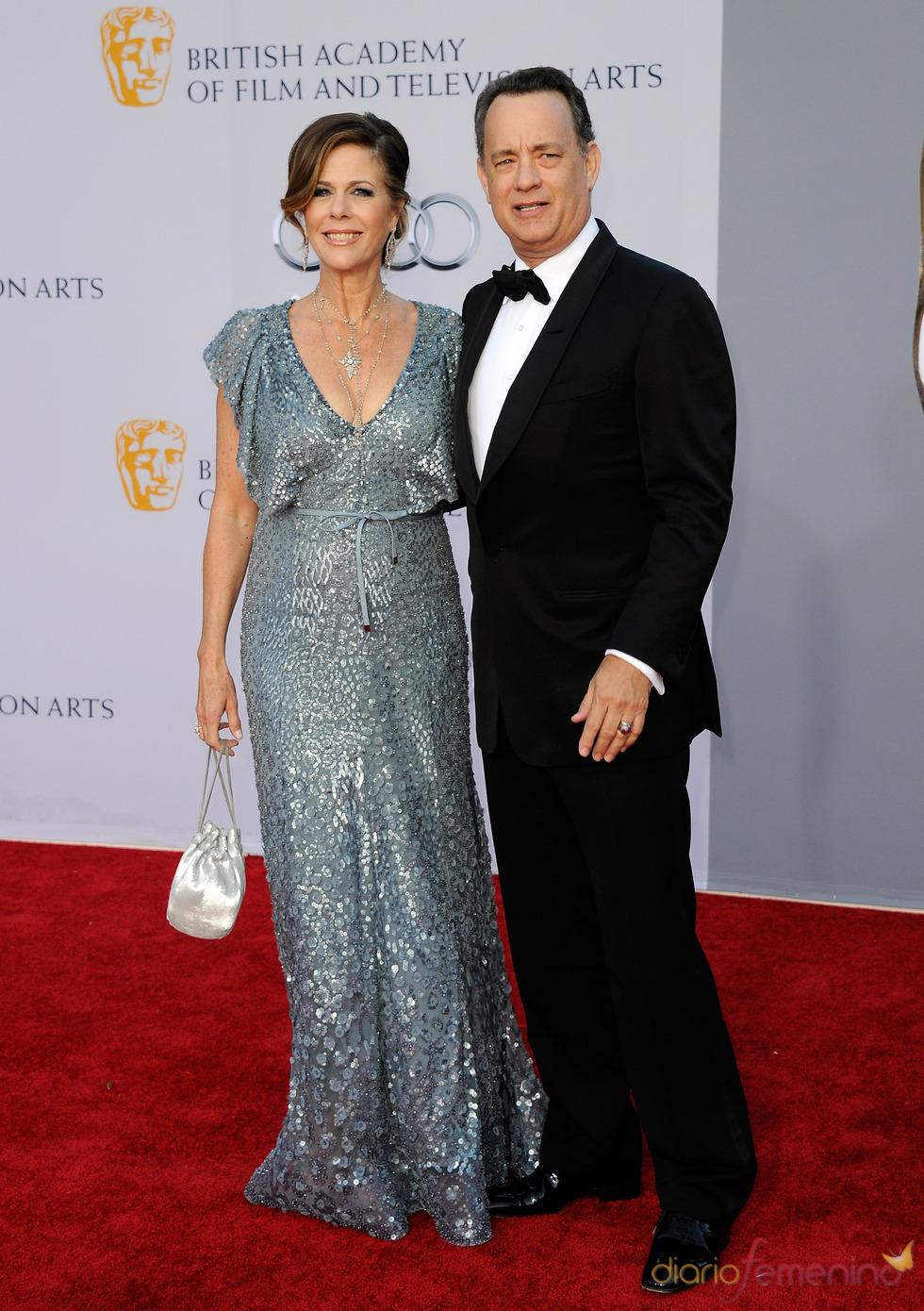 Tom Hanks y Rita Wilson acuden junto a los Duques de Cambridge a la gala 'BAFTA Brits to Watch'