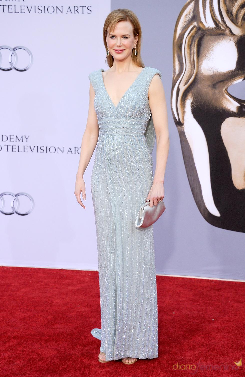 Nicole Kidman acude junto a los Duques de Cambridge a la gala 'BAFTA Brits to Watch'
