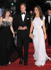 Los Duques de Cambridge en la gala 'BAFTA Brits to Watch'