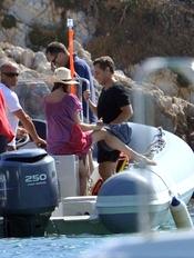 Nicolás Sarkozy y Carla Bruni surcan los mares de la costa azul