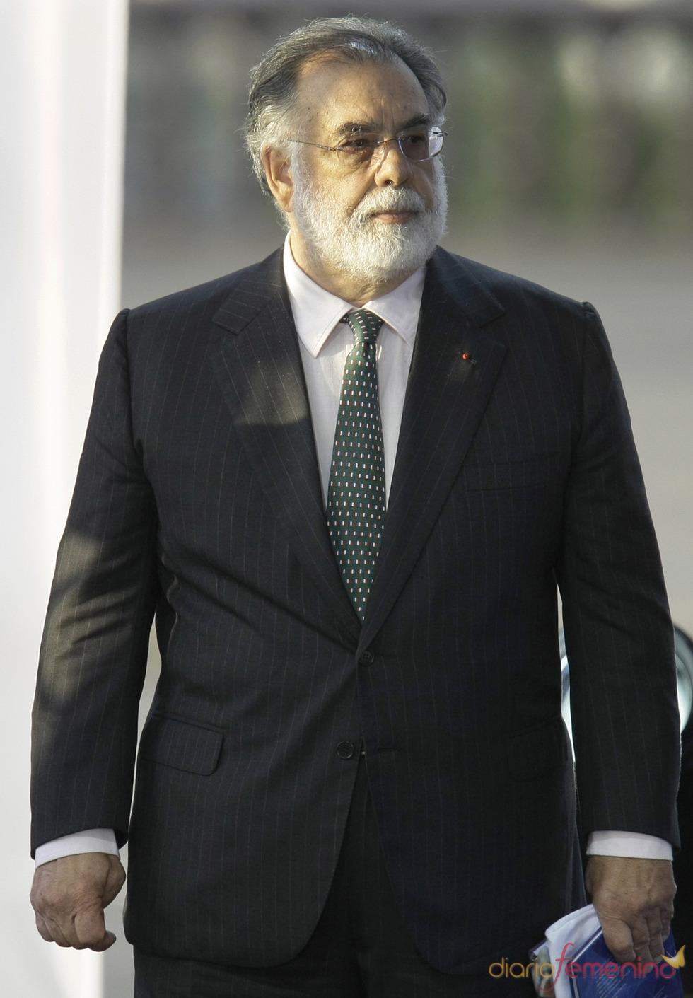 Francis Ford Coppola participa en una gala benéfica en Rusia