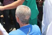 Brecha en la cabeza de José Ortega Cano como consecuencia de su accidente
