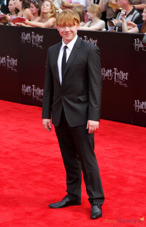 Rupert Grint en el estreno de 'Harry Potter y las reliquias de la muerte. Parte 2' en Nueva York