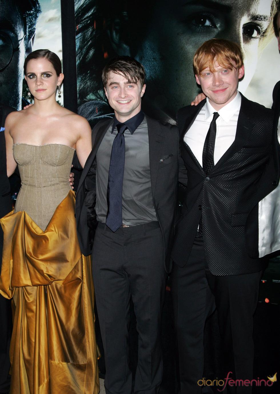 Emma Watson, Daniel Radcliffe y Rupert Grint estrenan 'Harry Potter y las reliquias de la muerte. Parte 2' en Nueva York