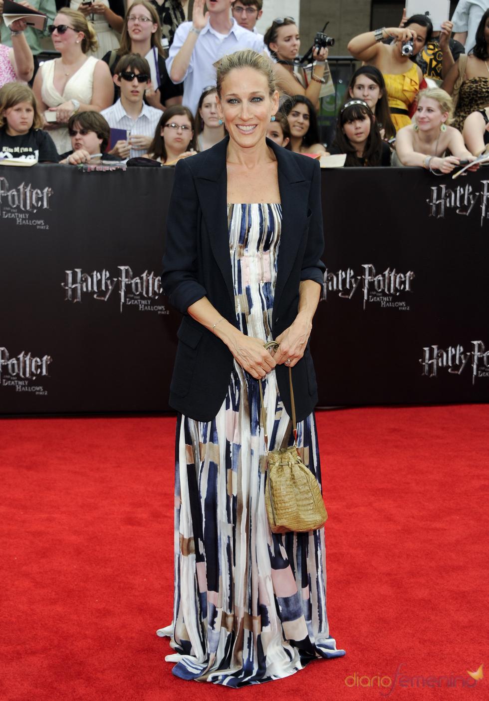 Sarah Jessica Parker en el estreno de 'Harry Potter y las reliquias de la muerte. Parte 2' en Nueva York