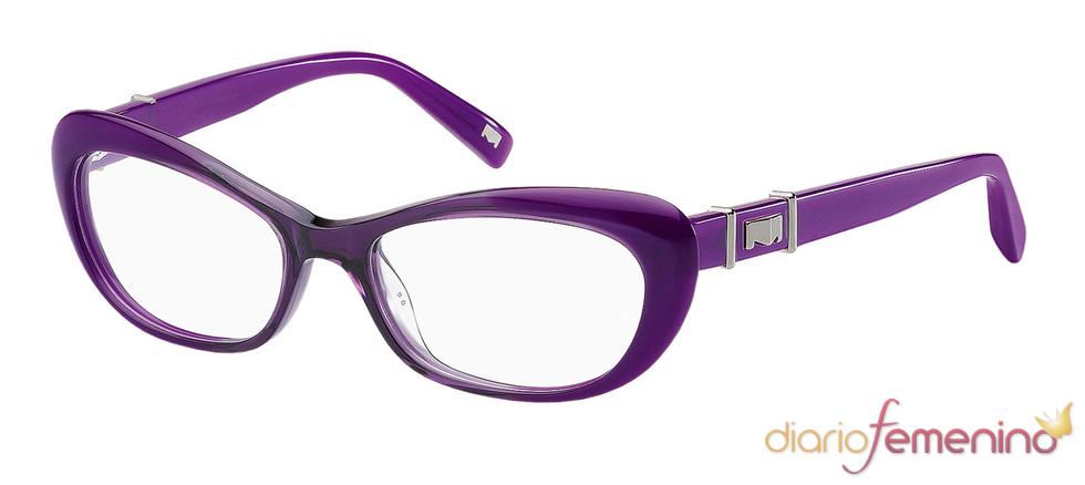 Gafas de sol moradas de la colección de Max Mara para 2011