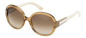 Gafas de sol XL redondas de la colección de Max Mara para 2011
