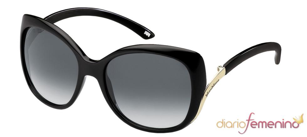 Gafas de sol negras de la colección de Max Mara para 2011