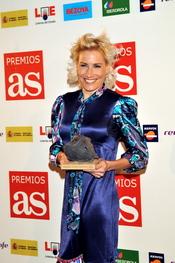 Marta Domínguez durante los Premios As del Deporte en 2009