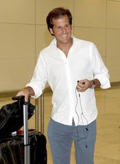 Jorge Benguria llega a Madrid desde Miami para casarse con Carla Goyanes