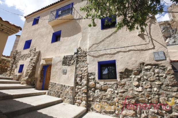 Casa Lucido situada en la localidad de Berdejo, en Zaragoza