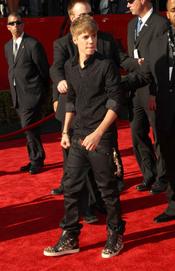 Justin Bieber en los ESPY Awards de 2011