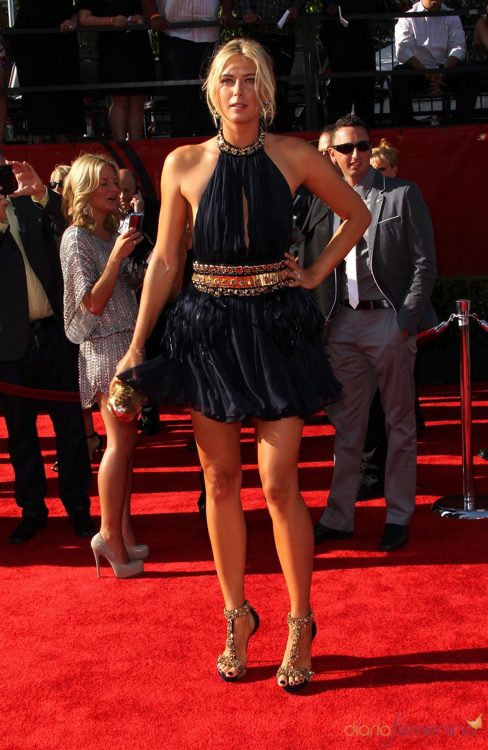 Maria Sharapova en los ESPY Awards de 2011