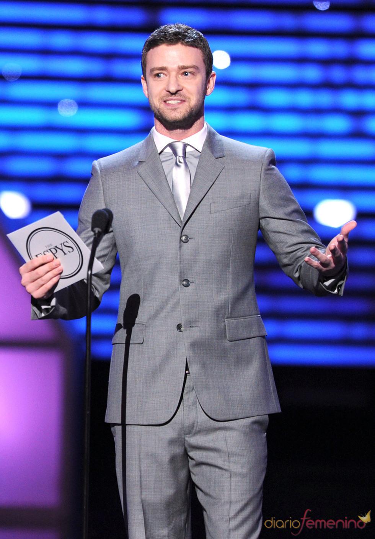 Justin Timberlake en los ESPY Awards de 2011