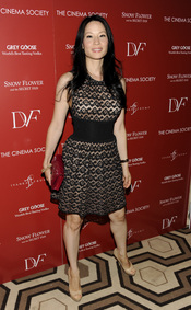 Lucy Liu en el estreno de 'Snow Flower' en Nueva York