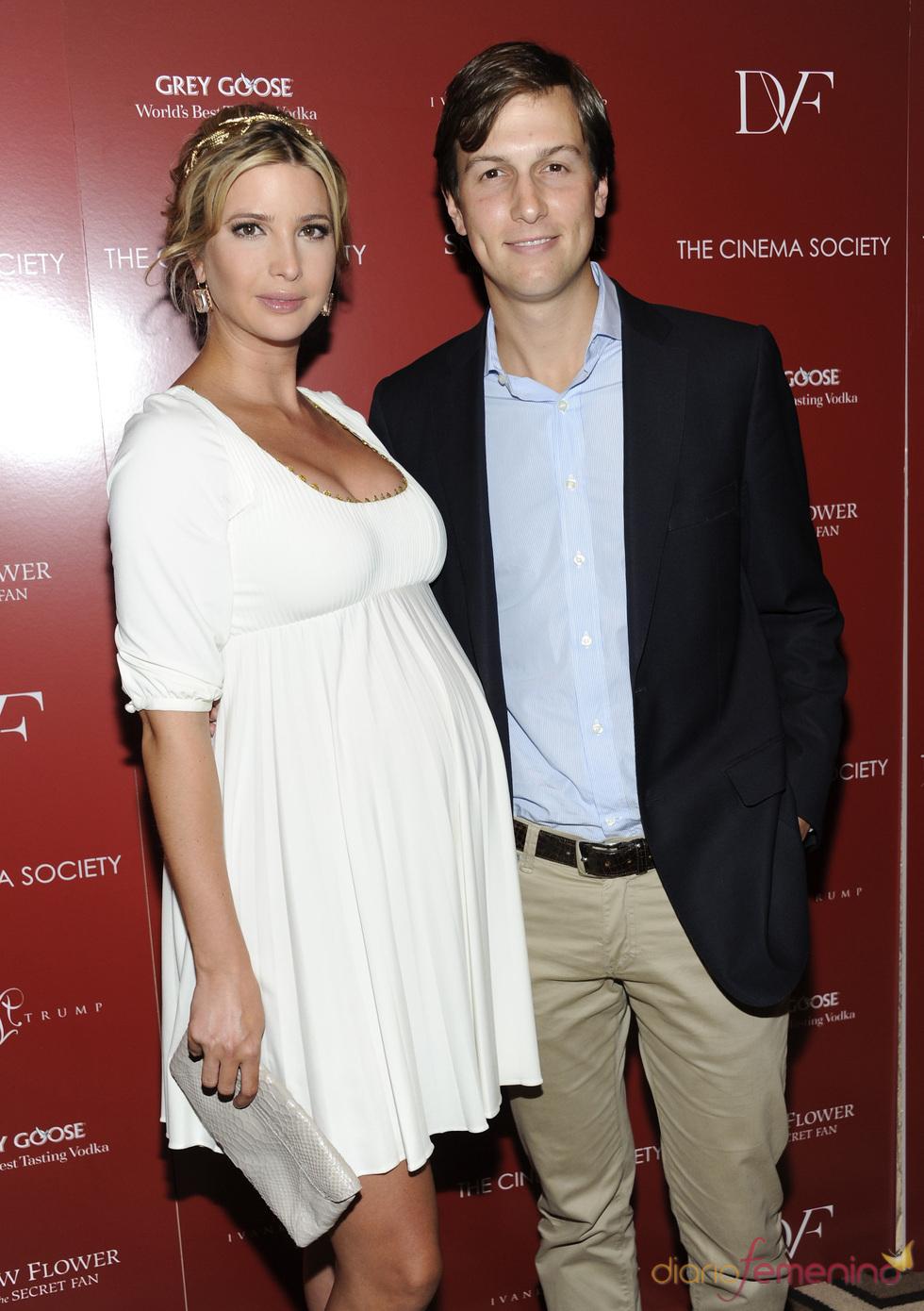 Ivanka Trump y Jared Kushner en el estreno de 'Snow Flower' en Nueva York