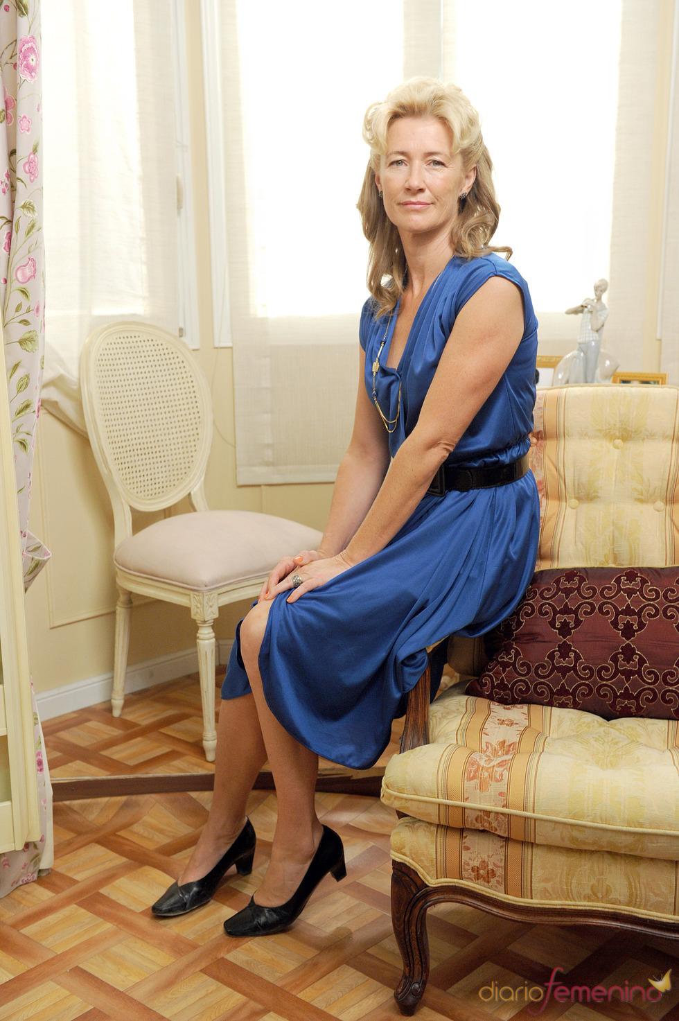 Ana Duato en la presentación de la 13 temporada de 'Cuéntame cómo pasó'