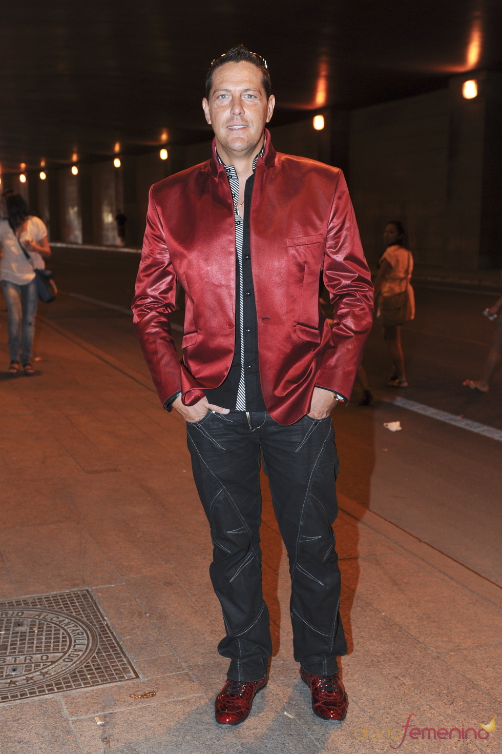 Óscar Lozano en el último concierto de Black Eyed Peas en Madrid