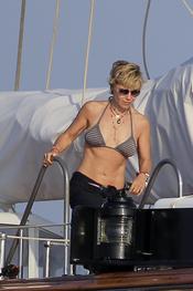 Eugenia Martínez de Irujo de vacaciones en Ibiza